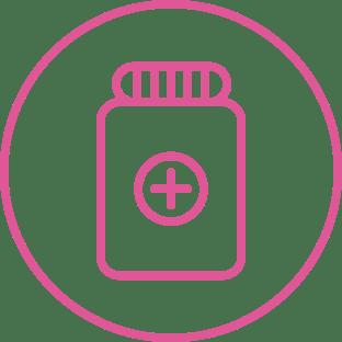 Un médicament compatible avec d'autres traitements médicaux en cours.