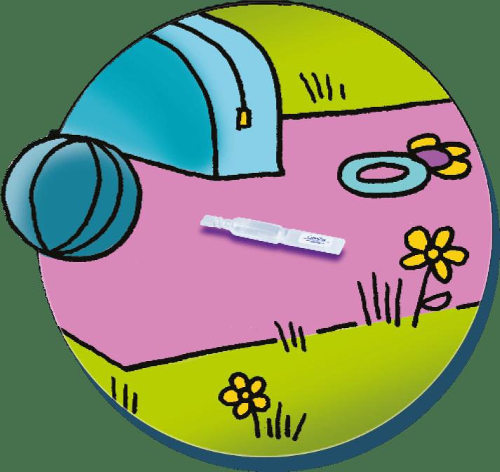 Une hygiène garantie L'unidose està usage uniqueet garantit de disposer d'un produitstérileà l'ouverture.