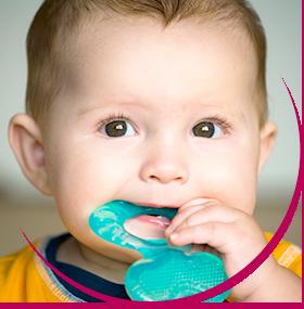 Quels sont les symptômes d'une poussée dentaire ?