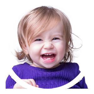 Faites rire bébéaux éclats